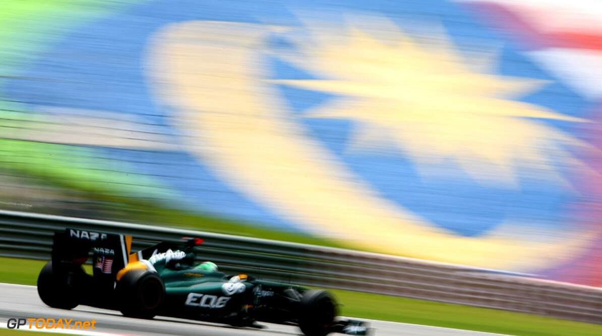 2011 Malaysian Grand Prix - Saturday Sepang, Kuala Lumpur, Malaysia 9th April 2011 Heikki Kovalainen (FIN), Team Lotus, TL11 World Copyright: Andrew Hone / Formula Press / LAT Photographic