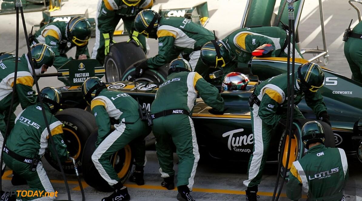 Lotus F1 Racing zet Maxis als sponsor op T127