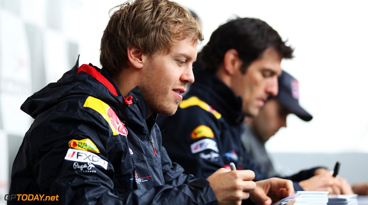 Vettel toont weinig begrip voor opmerkingen van Webber