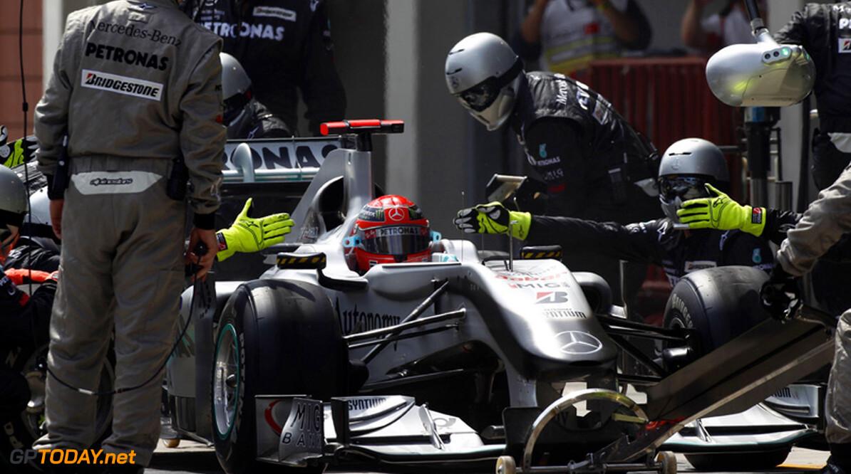 Mercedes GP heeft snelste pitcrew van 2010