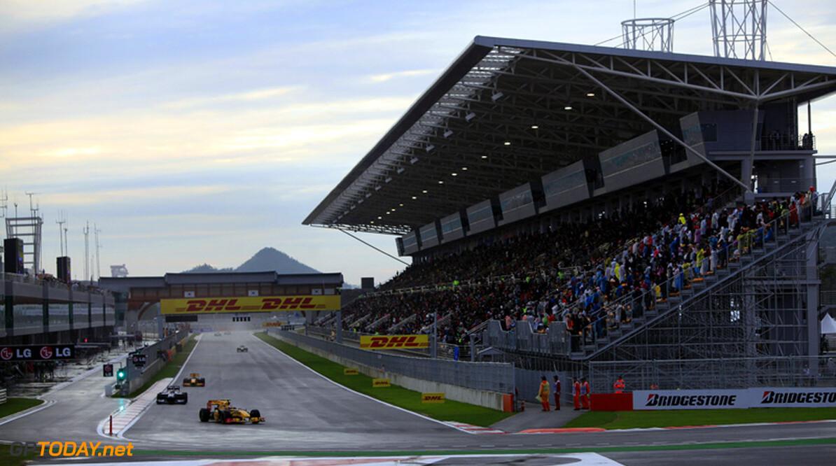 FIA verlengt DRS-zone voor Zuid-Korea met 80 meter