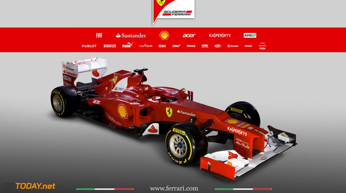 Ferrari presenteert nieuwe F2012 in Maranello