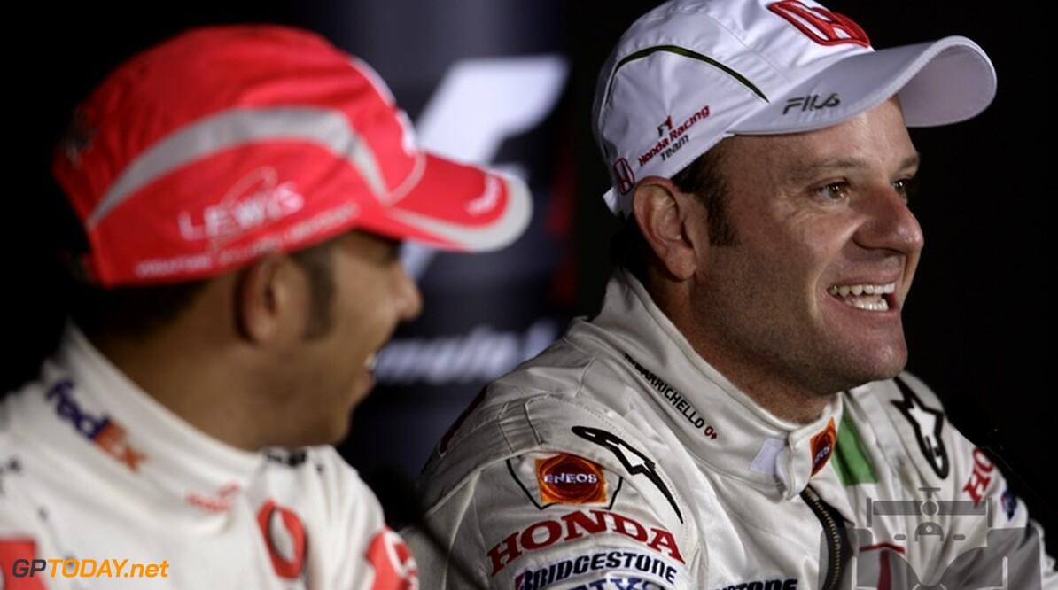"""Barrichello: """"Braziliaanse fans zullen Hamilton respecteren"""""""