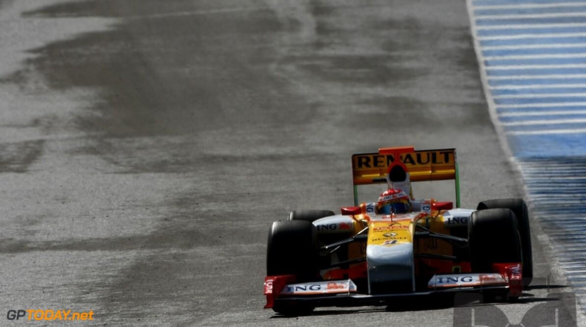 Renault put moed uit recente testontwikkelingen