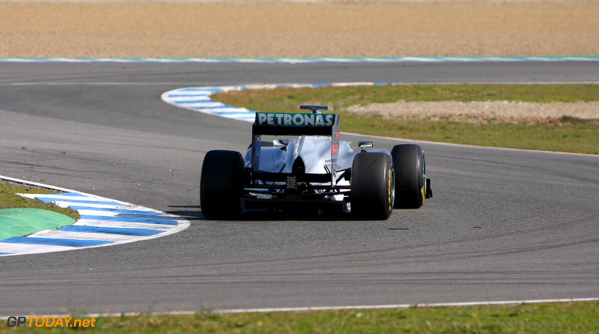 Rosberg treurt na opnieuw een gemankeerde testdag