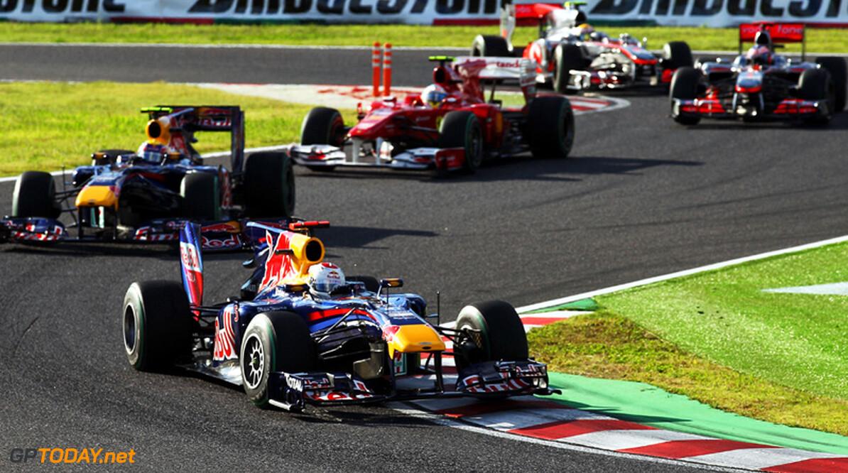 Red Bull Racing op zijn hoede voor Ferrari en McLaren