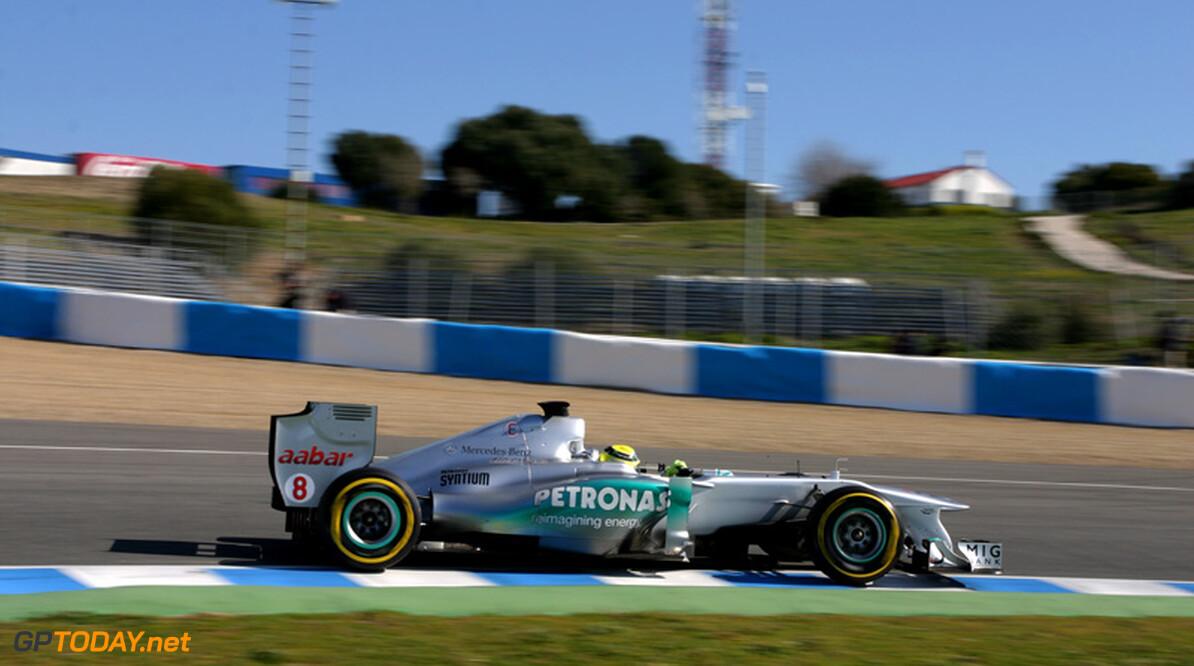 Jerez dag 4: Nico Rosberg luistert afscheid W02 op met toptijd