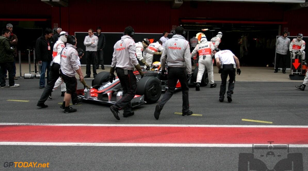"""Mercedes: """"McLaren staat nog niet waar het wil staan"""""""