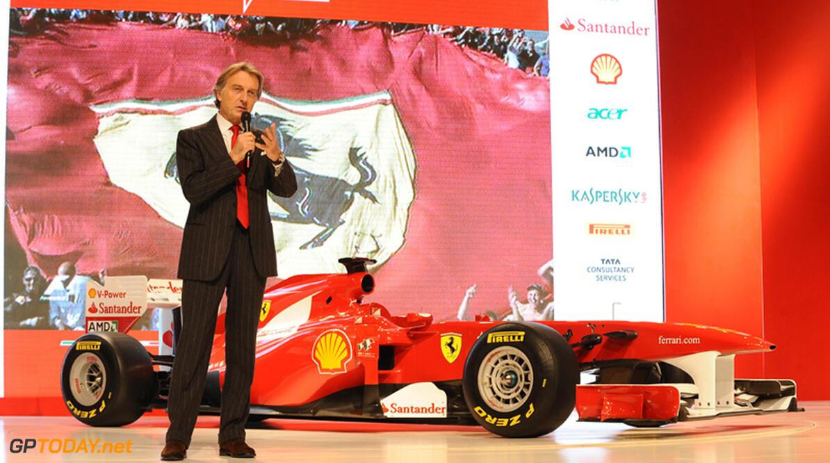 Di Montezemolo blaast loftrompet voor de Ferrari-medewerkers