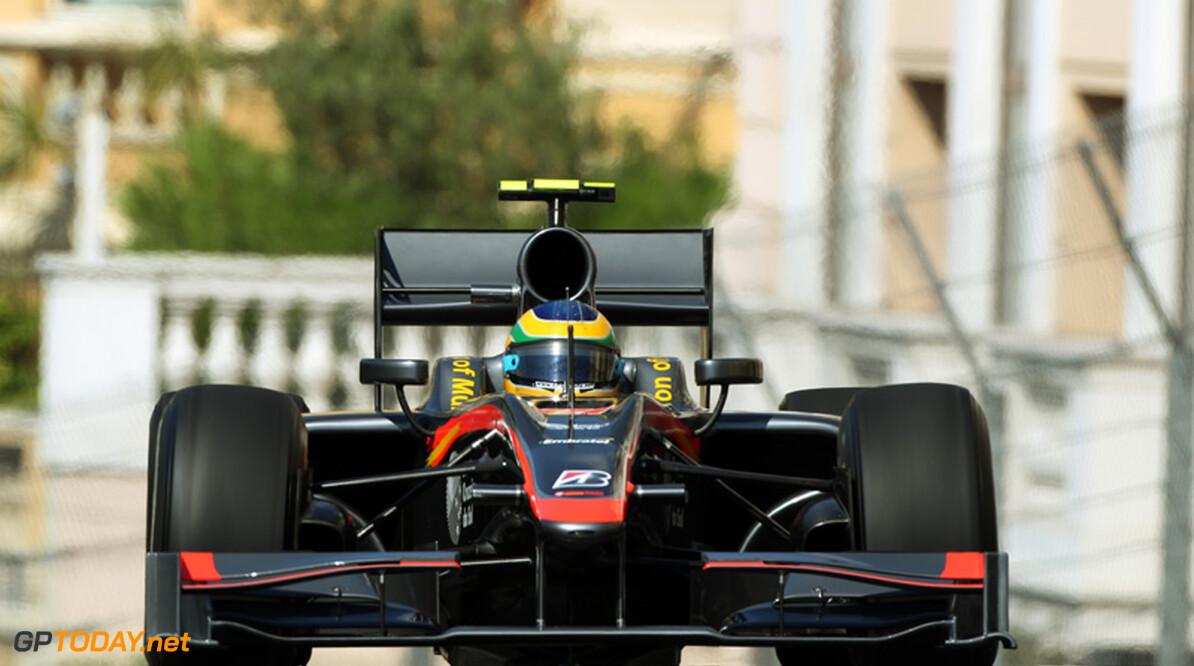 """Bruno Senna: """"Er is iets mis met de achterkant van de auto"""""""