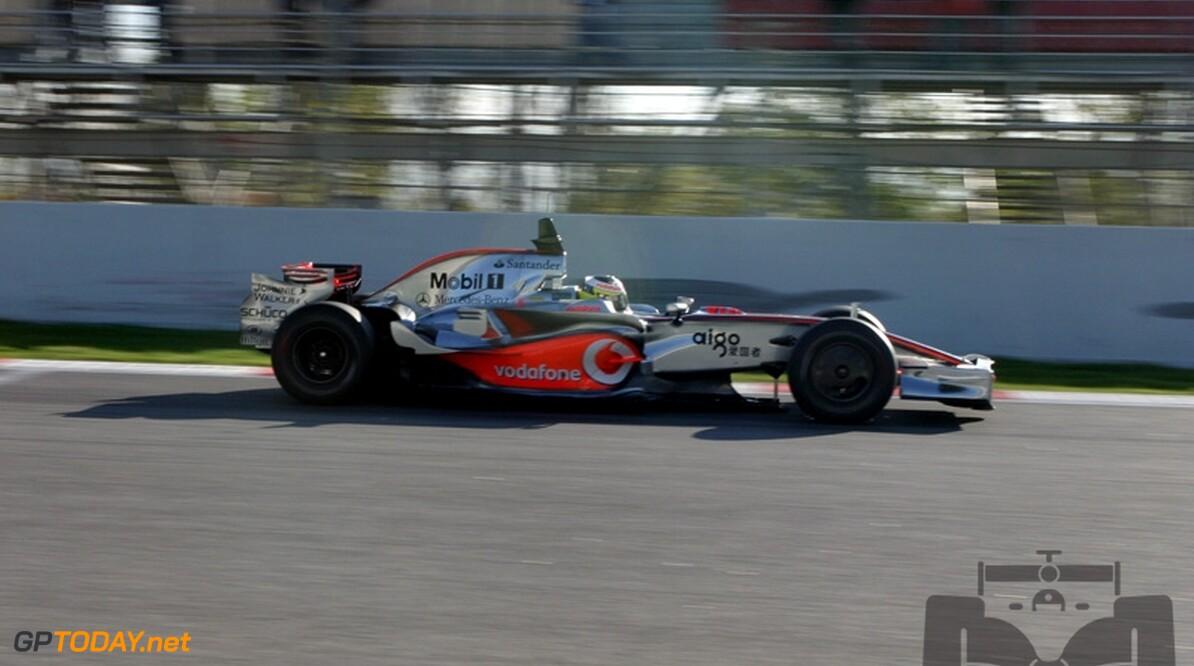 McLaren-coureur De la Rosa test voor Force India