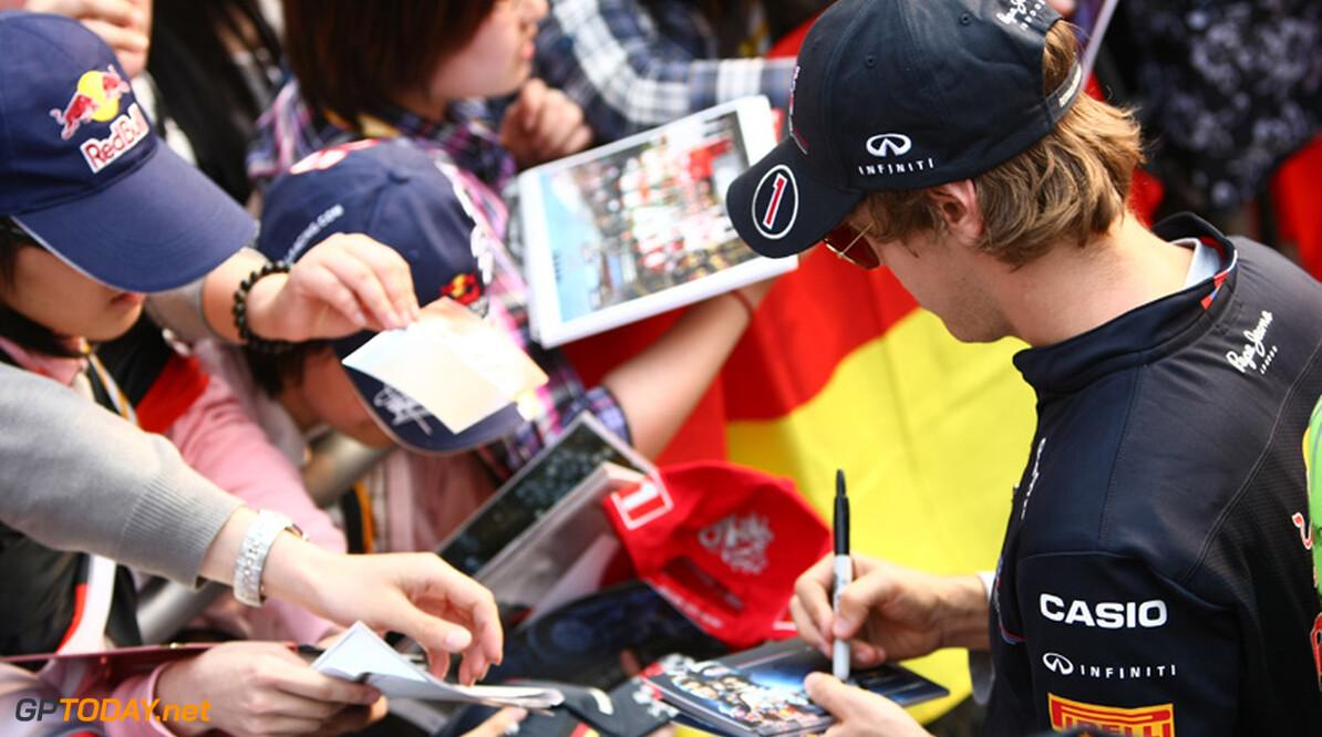 2011 Chinese Grand Prix - ThursdayShanghai International Circuit, Shanghai, China14th April 2011 Sebastian Vettel (GER), Red Bull Racing World Copyright: Andrew Hone / Formula Press / LAT Photographic