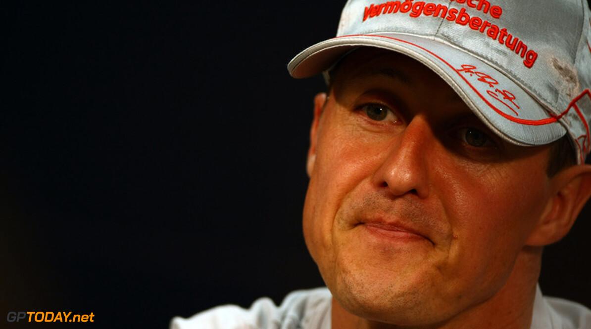 Geen verandering in situatie van Michael Schumacher