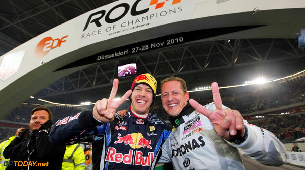 RoC: Vettel en Schumacher winnen opnieuw Nations Cup
