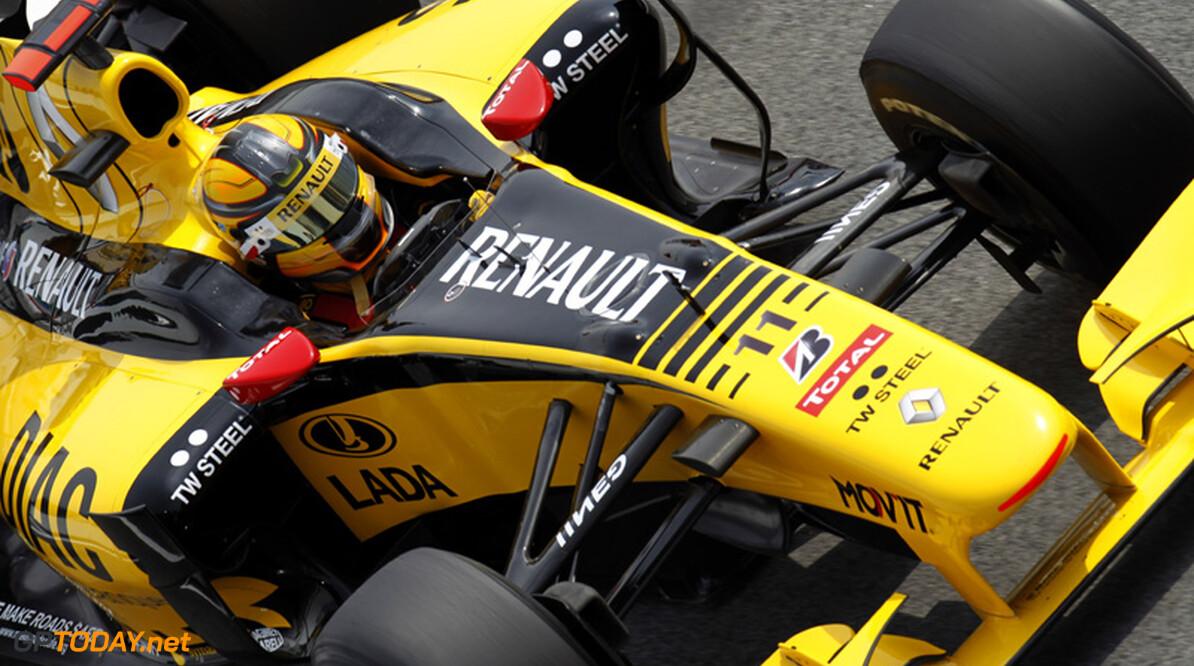 Renault zonder speciaal aerodynamicapakket in Monaco