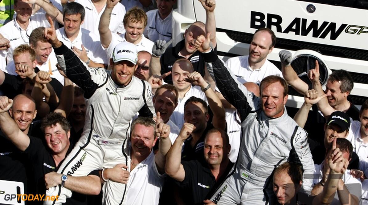 Jenson Button wint Grand Prix van Spanje