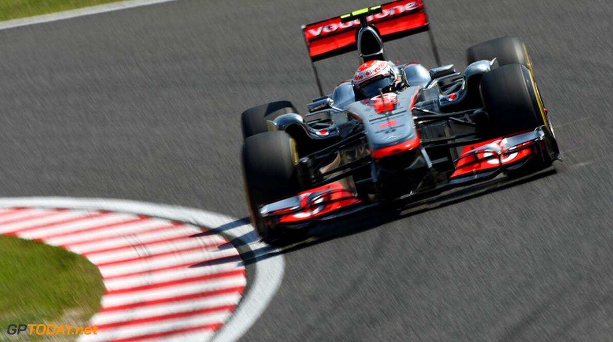 VT3: McLaren domineert ook in droge omstandigheden