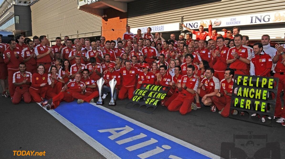 Ferrari en Santander maken morgen sponsorovereenkomst bekend