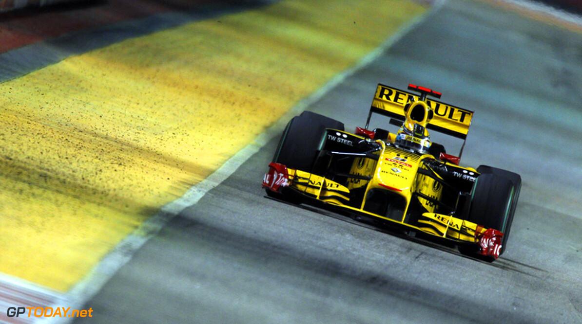 'Renault verkoopt woensdag overige 25% van Formule 1-team'