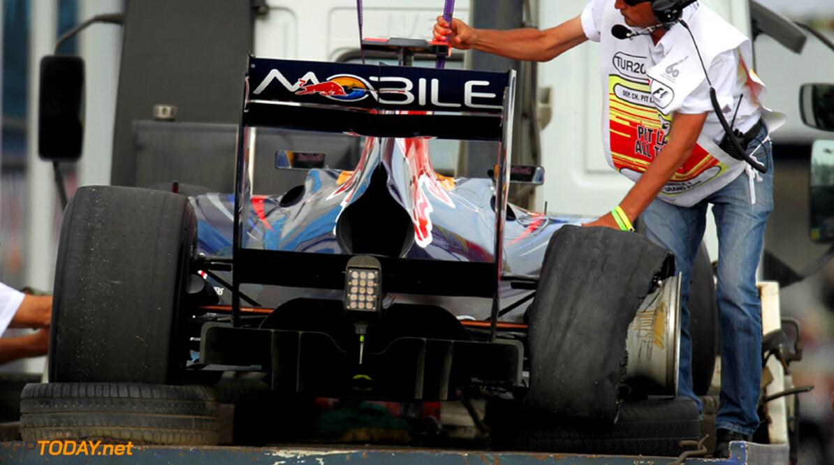 Red Bull-leiding kiest kant van Sebastian Vettel