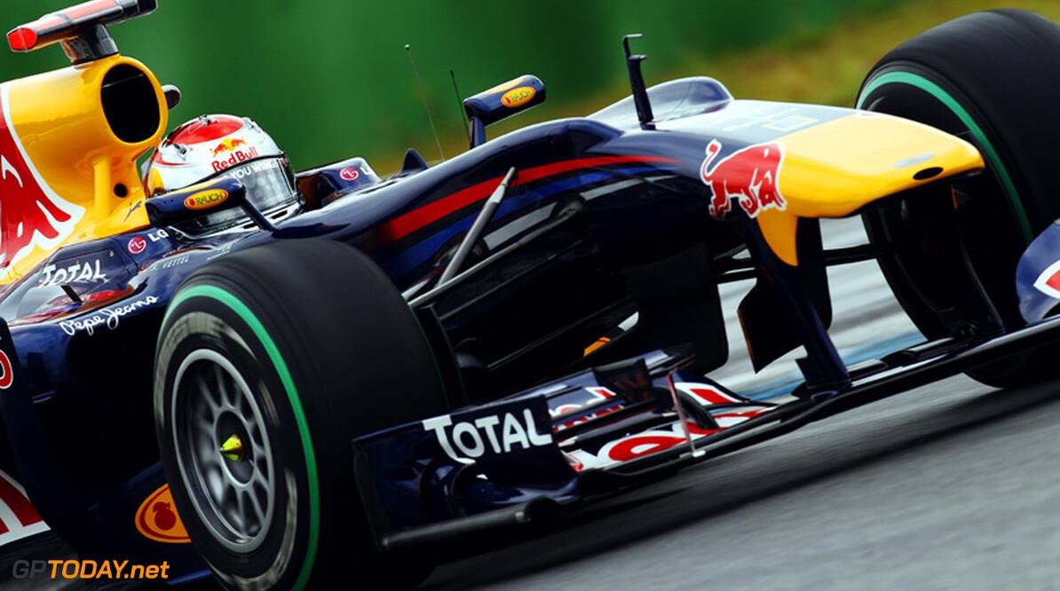 VT2: Vettel en Red Bull Racing zetten heerschappij in Brazilië voort