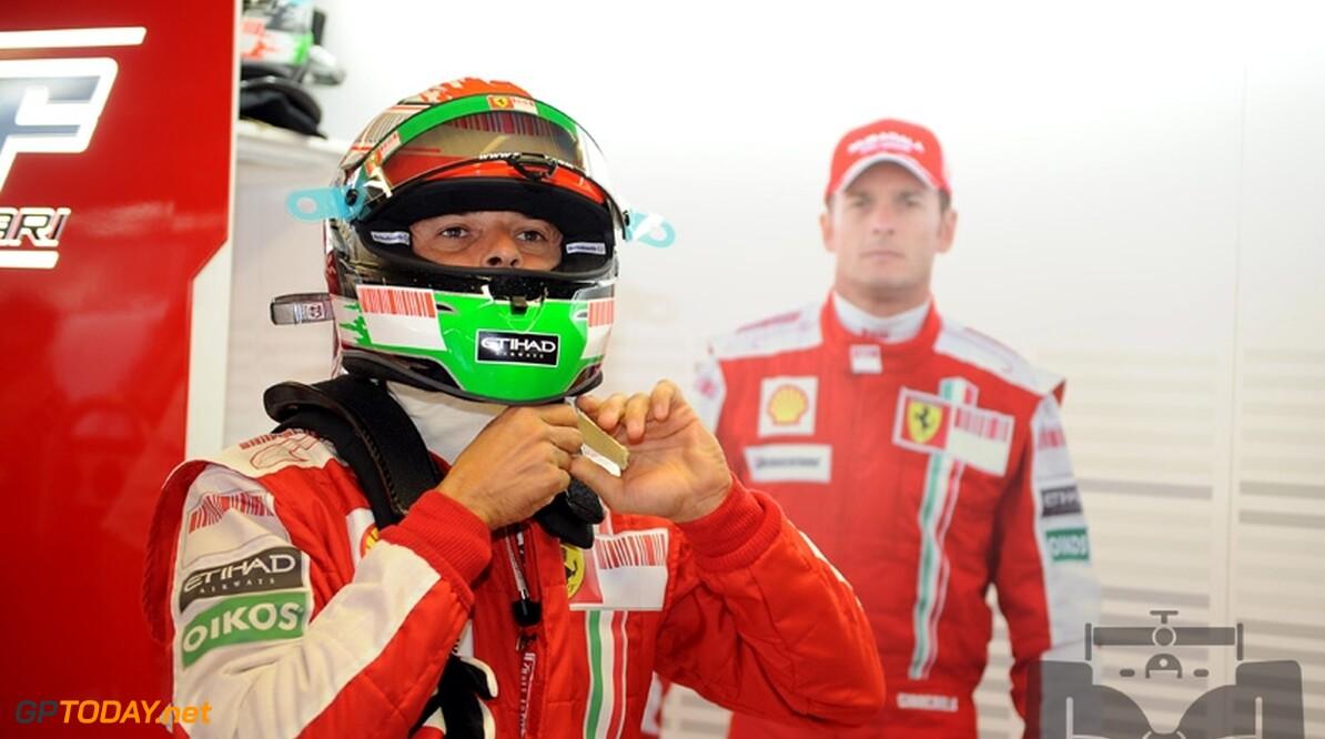 Giancarlo Fisichella belooft beterschap voor Singapore