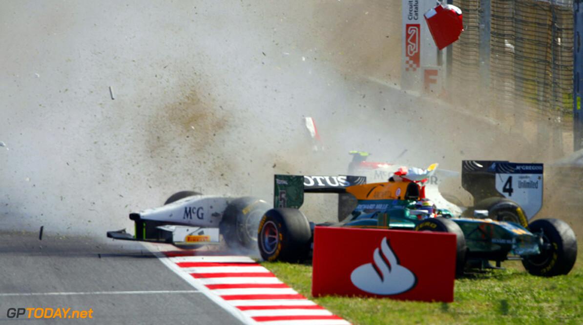 Jules Bianchi alsnog bestraft voor crash met Van der Garde