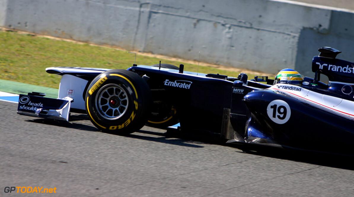 Bruno Senna schat Williams voorlopig als middenmoter in