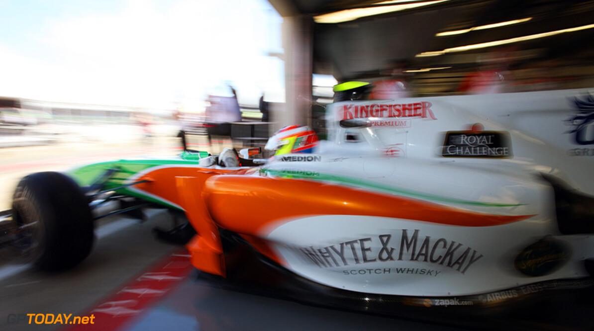 Force India sluit slecht weekend af met verwarring bij pitstops