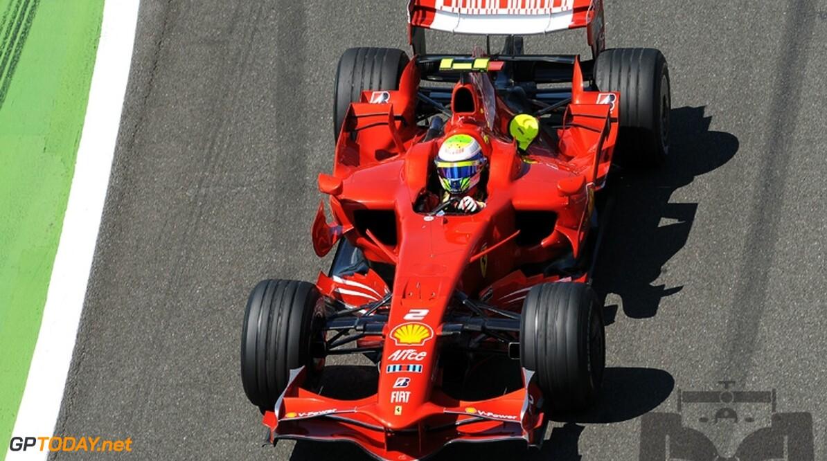"""Massa: """"Ferrari altijd goed op Interlagos, ik weet niet waarom"""""""