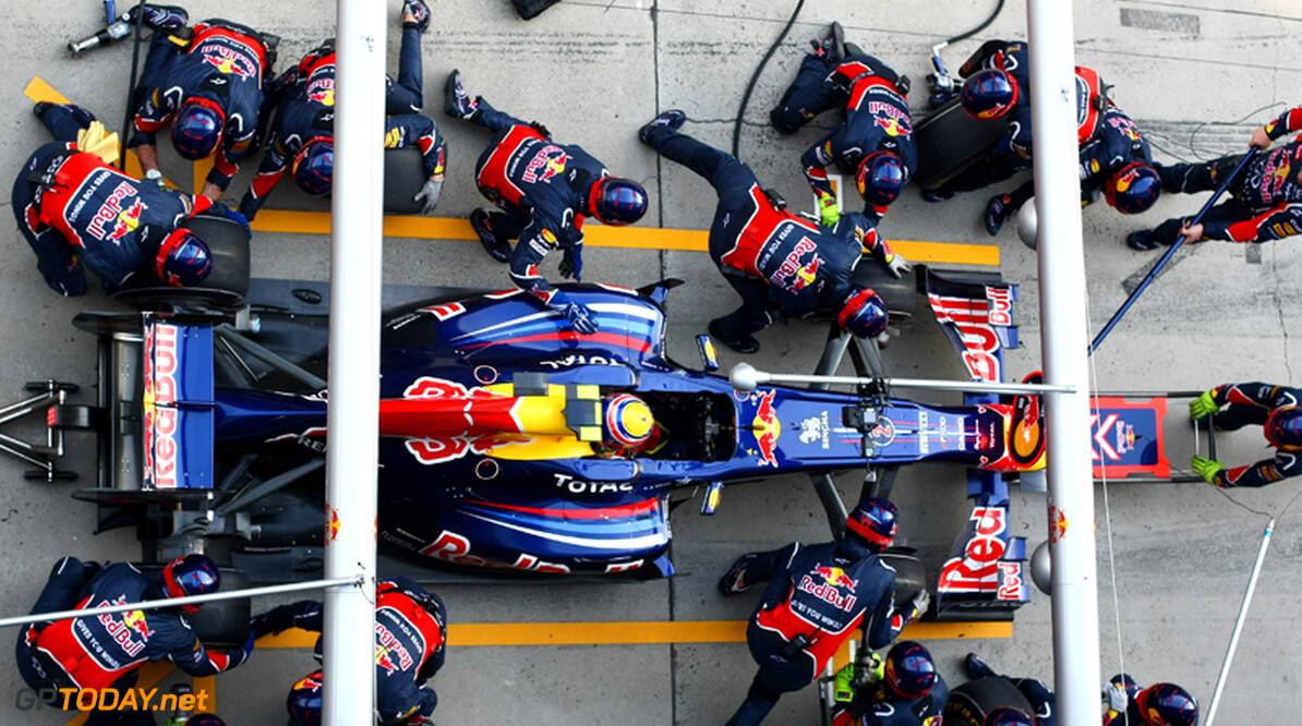 2011 Chinese Grand Prix - Sunday Shanghai International Circuit, Shanghai, China 17th April 2011 Mark Webber (AUS), Red Bull Racing World Copyright: Andrew Hone / Formula Press / LAT Photographic