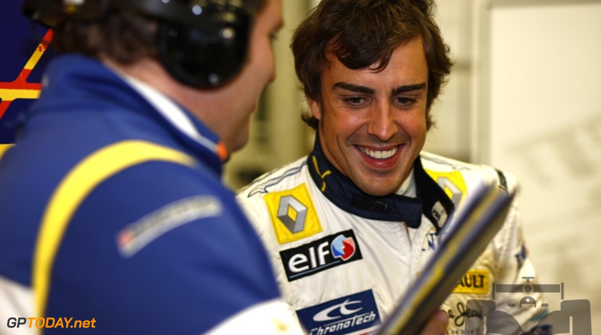 """""""Alonso woensdag officieel Renault-coureur voor 2009"""""""