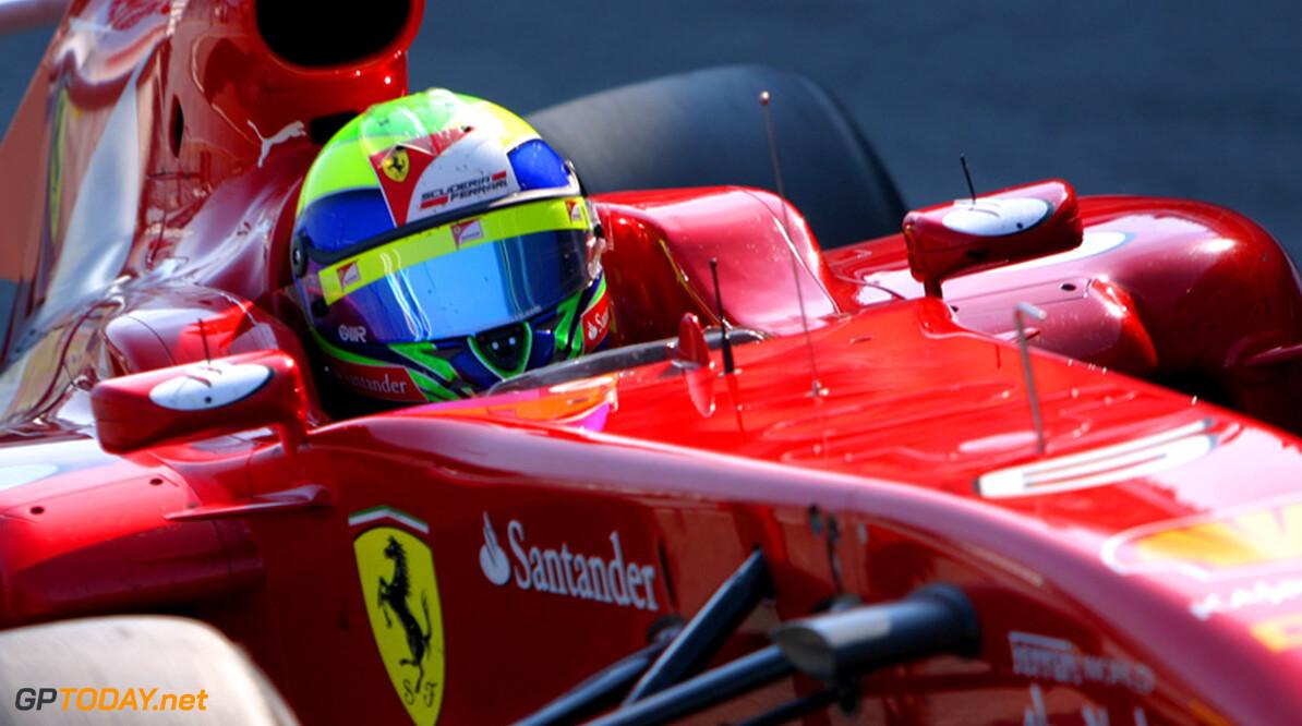 Massa dringt bij Ferrari aan op gelijke behandeling als Alonso