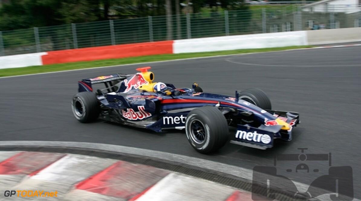 Red Bull Racing niet snel genoeg voor top tien