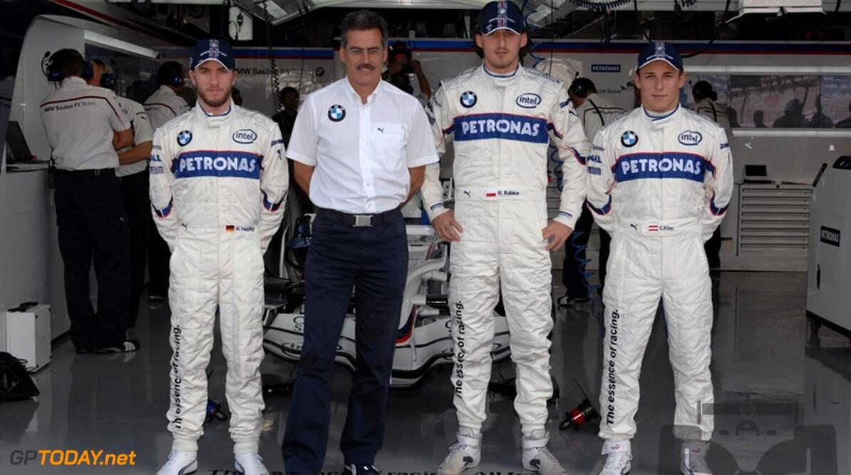 Fans vinden Kubica en Heidfeld juiste duo voor BMW Sauber
