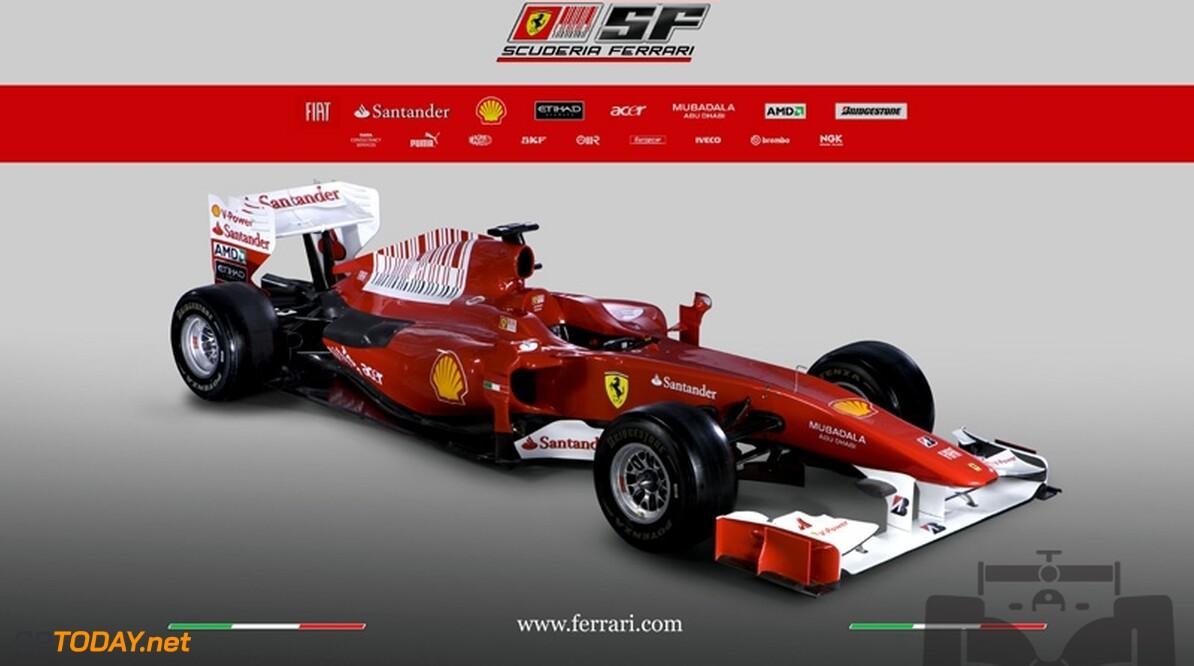 Ferrari presenteert nieuwe F10 in Maranello