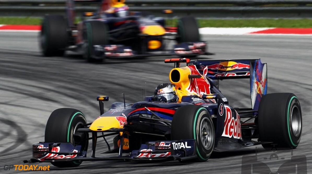 Red Bull Racing legt verantwoordelijkheid bij de coureurs neer