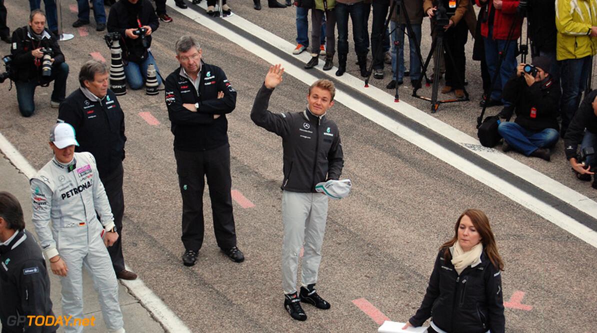 """Rosberg: """"Voelde me meteen thuis in de W02"""""""