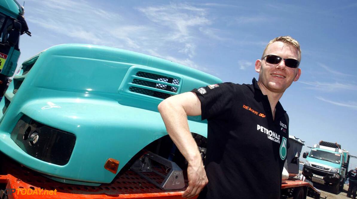 <b>Dakar:</b> Gerard de Rooy gaat met Iveco voor titelprolongatie
