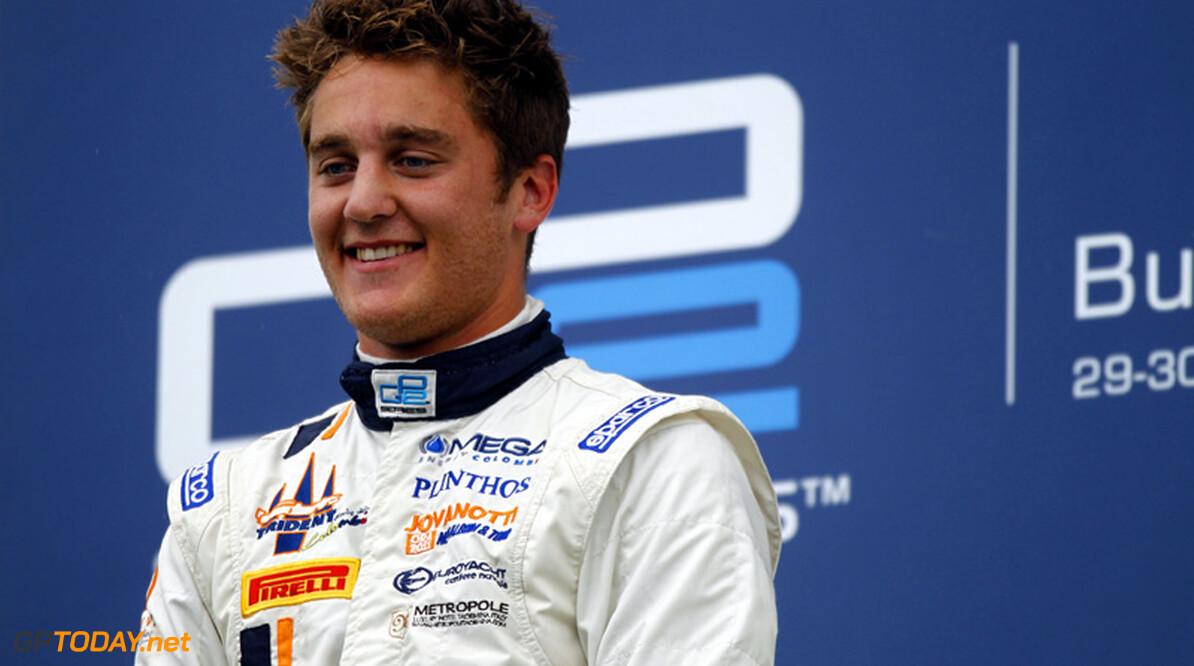 Stefano Coletti namens Scuderia Toro Rosso bij young drivers-test