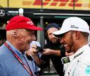 Hamilton: Lauda was 'a bright light in my life'