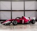 Jamie Chadwick voor Aston Martin als junior-coureur