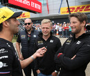 """Romain Grosjean wil Ricciardo opvolgen: """"Stoeltje bij Renault erg aantrekkelijk"""""""