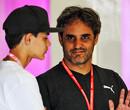 Juan Pablo Montoya verslaat Rudy van Buren in Esports-race in Miami