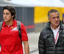 Jean Alesi scheurt in Ferrari 312 B3 door de straten van Monaco