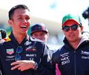 """Sergio Perez wil naar Red Bull: """"Zou niet twijfelen om teamgenoot van Max Verstappen te worden"""""""