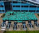 Mercedes viert binnenhalen zesde wereldtitels in Brackley en Brixworth