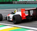 1988 McLaren MP4/4 returns to the Interlagos circuit