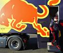 Alle foto's van de shakedown van Max Verstappen in de RB16 op Silverstone