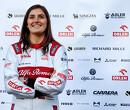 Tatiana Calderon blijft aan als testcoureur bij Alfa Romeo